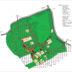 Site Map of Lees Wood Scout and Guide Activity Centre